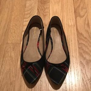 Holiday Plaid Ballet Flats